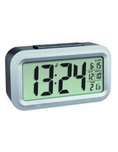 TFA-Dostmann LUMIO PLUS Digital alarm clock Black, Silver Tfa-dostmann 60.2553.01 - 1