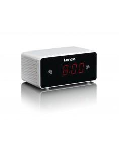 Lenco CR-510 radio Kello Digitaalinen Hopea Lenco CR510W - 1