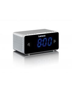 Lenco CR-520 Kello Digitaalinen Hopea Lenco CR520S - 1