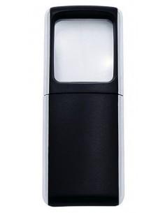 Wedo Rectangle Magnifier with LED light suurennuslasi Musta 3x Wedo 2717501 - 1