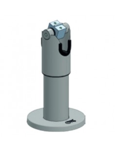 Ergonomic Solutions SpacePole DTP102 Tabletti/UMPC Musta Aktiivinen teline Ergonomic Solutions DTP102-02 - 1