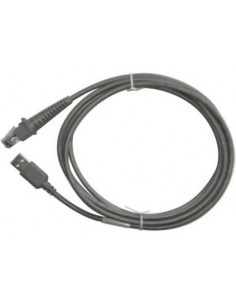 Datalogic Data Transfer Cable USB-kaapeli 2 m USB A Harmaa Datalogic Adc 90A052065 - 1