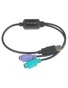Datalogic ADP-203 Wedge to USB Adapter Musta Datalogic Adc 90ACC1903 - 1
