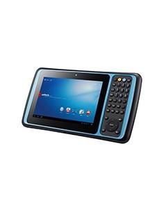 "Unitech TB120 17.8 cm (7"") Texas Instruments 1 GB 8 Wi-Fi 4 (802.11n) Musta Android Unitech TB120-QAWFUMDG - 1"