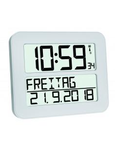 TFA-Dostmann 60.4512.02 herätyskello Digitaalinen Valkoinen Tfa-dostmann 60.4512.02 - 1