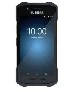 "Zebra TC26 RFID-handdatorer 12.7 cm (5"") 1280 x 720 pixlar Pekskärm 236 g Svart Zebra TC26BK-11B212-A6 - 1"