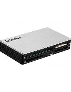Sandberg USB 3.0 Multi card reader 3.2 Gen 1 (3.1 1) Type-A Black, Silver Sandberg 133-73 - 1