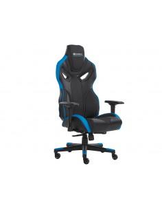 Sandberg Voodoo Gaming Chair Black/Blue PC-spelsstol Stoppad sits Svart, Blå Sandberg 640-82 - 1