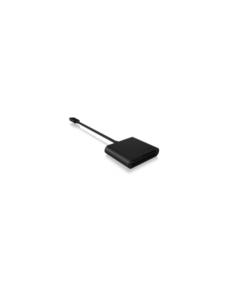 RaidSonic IB-CR301-C3 card reader USB 3.2 Gen 1 (3.1 1) Type-C Black Raidsonic 60649 - 3