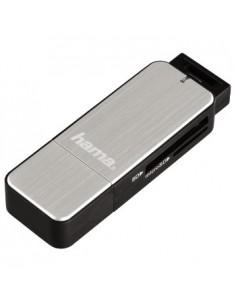 Hama 123900 kortinlukija USB 3.2 Gen 1 (3.1 1) Musta, Hopea Hama 123900 - 1