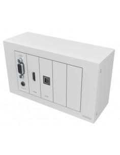 Vision TC3-PK+PK15MCABLES outlet box White Vision TC3-PK+PK15MCABLES - 1