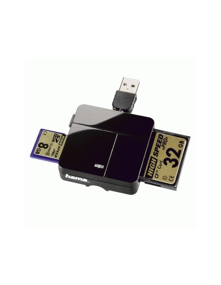 Hama 00094124 kortinlukija USB 2.0 Musta Hama 94124 - 4