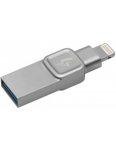 Kingston Technology DataTraveler Bolt Duo, 32GB USB-muisti USB Type-A / Lightning 3.2 Gen 1 (3.1 1) Hopea Kingston C-USB3L-SR32G