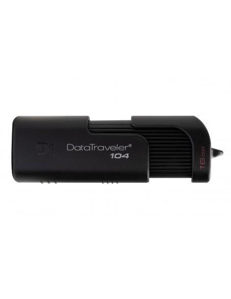 Kingston Technology DataTraveler 104 USB-muisti 16 GB USB A-tyyppi 2.0 Musta Kingston DT104/16GB - 4
