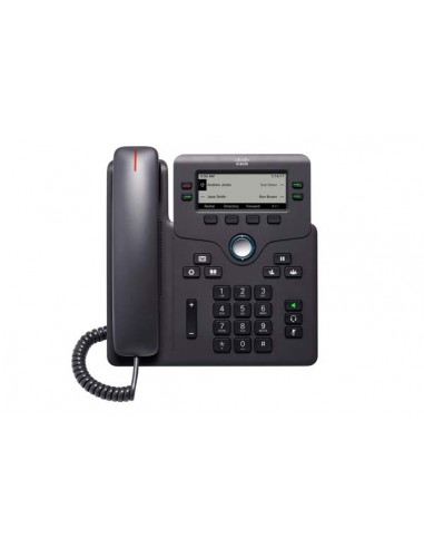 Cisco CP-6841-3PW-UK-K9= IP-puhelin Musta Johdollinen puhelin 4 linjat Cisco CP-6841-3PW-UK-K9= - 1