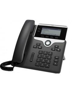 Cisco 7811 IP-puhelin Musta, Hopea Johdollinen puhelin 1 linjat LED Cisco CP-7811-3PCC-K9= - 1