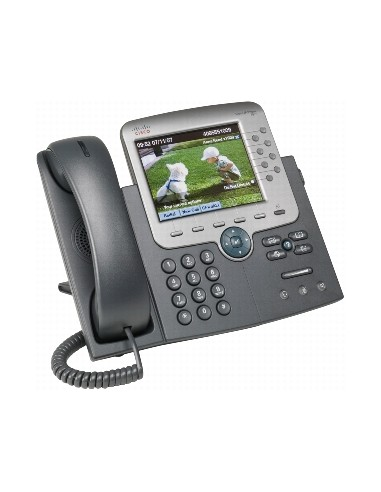 Cisco Unified IP Phone 7975G Soittajan tunnistus Musta, Hopea Cisco CP-7975G= - 1