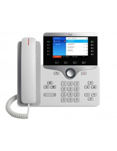 Cisco 8841 IP-telefoner Vit Trådbunden telefonlur Cisco CP-8841-W-K9= - 1