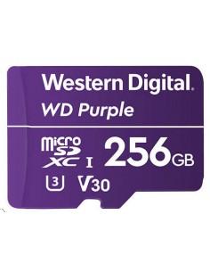Western Digital Purple flash-muisti 256 GB MicroSDXC Western Digital WDD256G1P0A - 1