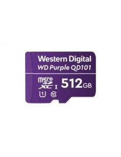 Western Digital WD Purple SC QD101 flash-muisti 512 GB MicroSDXC Luokka 10 Western Digital WDD512G1P0C - 1