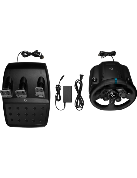 Logitech G G923 Ohjauspyörä + polkimet PC,PlayStation 4 USB Musta Logitech 941-000149 - 7