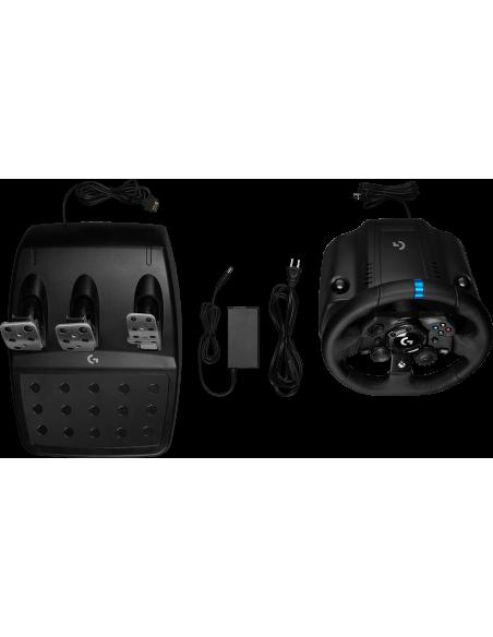 Logitech G G923 Ohjauspyörä + polkimet PC,Xbox 360 USB Musta Logitech 941-000158 - 7