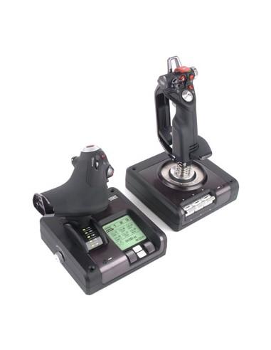 Logitech X52 Pro Flight Control System Lentosimulaattori Logitech 945-000003 - 1