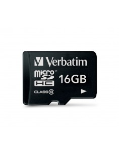 Verbatim Premium flash-muisti 16 GB MicroSDHC Luokka 10 Verbatim 44010 - 1