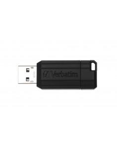 Verbatim PinStripe USB-muisti 64 GB USB A-tyyppi 2.0 Musta Verbatim 49065 - 1