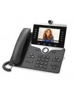 Cisco 8865 IP-puhelin Puuhiili Johdollinen puhelin 5 linjat Wi-Fi Cisco CP-8865-3PCC-K9= - 1
