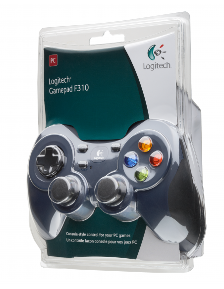 Logitech G F310 Pad-ohjain PC Digitaalinen Musta, Sininen, Monivärinen Logitech 940-000138 - 14