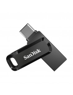 Sandisk Ultra Dual Drive Go USB-muisti 512 GB USB Type-A / Type-C 3.2 Gen 1 (3.1 1) Musta Sandisk SDDDC3-512G-G46 - 1