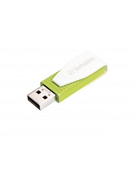 Verbatim Store 'n' Go Swivel USB-muisti 32 GB USB A-tyyppi 2.0 Vihreä Verbatim 49815 - 1