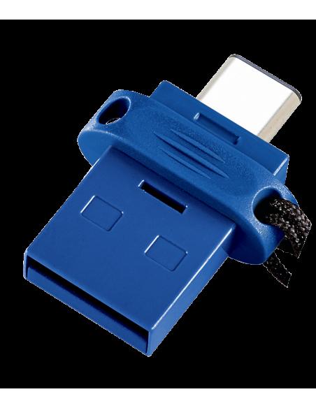 Verbatim 49966 USB-muisti 32 GB USB Type-A / Type-C 3.2 Gen 1 (3.1 1) Musta, Sininen, Hopea Verbatim 49966 - 4
