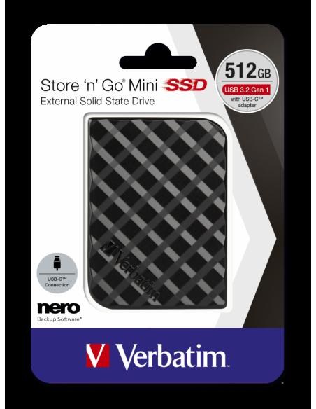 Verbatim Store 'n' Go 512 GB Musta Verbatim 53236 - 4