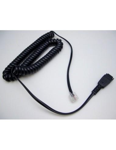 Jabra 8800-01-94 puhelinjohto 1.8 m Musta Jabra 8800-01-94 - 1