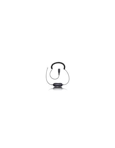 Jabra Smart cord QD - RJ10 2 m Musta Gn Netcom 88011-99 - 1