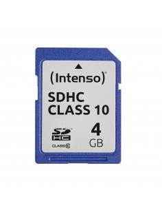 Intenso 4GB SDHC flash-muisti Luokka 10 Intenso 3411450 - 1