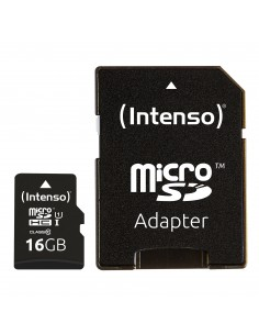 Intenso 16GB microSDHC flash-muisti Luokka 10 UHS-I Intenso 3423470 - 1