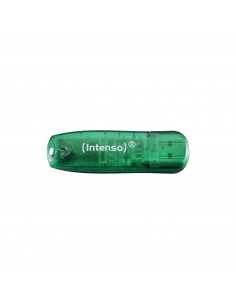 Intenso Rainbow Line USB-muisti 8 GB USB A-tyyppi 2.0 Vihreä Intenso 3502460 - 1