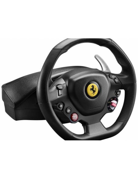 Thrustmaster T80 Ferrari 488 GTB Edition Ohjauspyörä + polkimet PlayStation 4 Digitaalinen Musta Thrustmaster 4160672 - 2