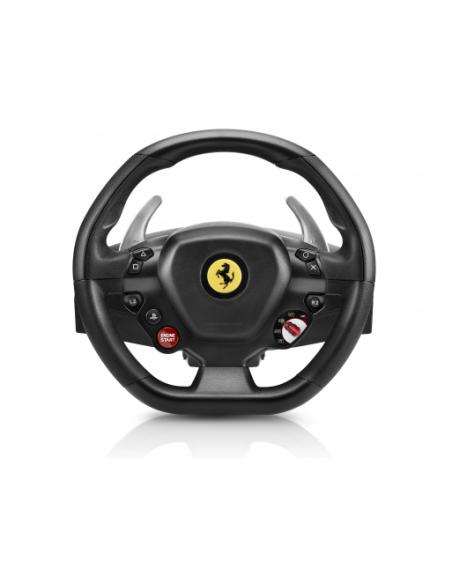 Thrustmaster T80 Ferrari 488 GTB Edition Ohjauspyörä + polkimet PlayStation 4 Digitaalinen Musta Thrustmaster 4160672 - 4