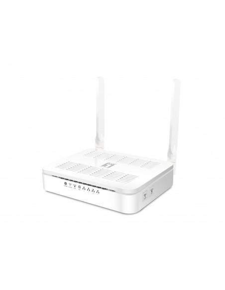 LevelOne WGR-8031 langaton reititin Kaksitaajuus (2,4 GHz/5 GHz) Gigabitti Ethernet Valkoinen Level One 54023203 - 1