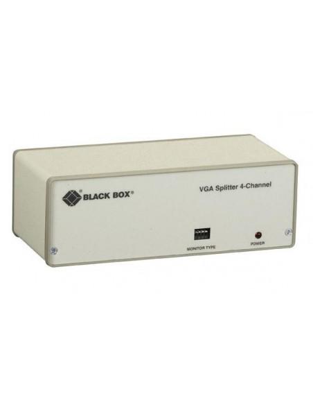 Black Box AC057AE-K-R4 videohaaroitin VGA 4x Black Box AC057AE-K-R4 - 1