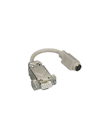 Black Box AC244A kaapeli liitäntä / adapteri DB9 6-pin mini DIN Harmaa Black Box AC244A - 1