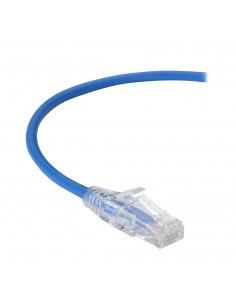 Black Box CAT6A 0.6m verkkokaapeli 0.6 m U/UTP (UTP) Sininen Black Box C6APC28-BL-02 - 1