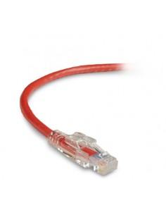 Black Box C6PC60-RD-01M 1m Cat6 U/UTP (UTP) Punainen verkkokaapeli Black Box C6PC60-RD-01M - 1