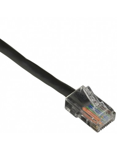 Black Box CAT5EPC-B-001-BK verkkokaapeli 0.3 m Cat5e U/UTP (UTP) Musta Black Box CAT5EPC-B-001-BK - 1