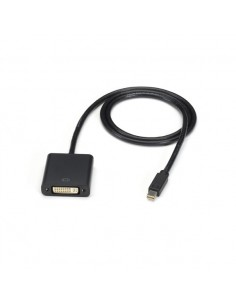 Black Box Mini DisplayPort - DVI, 15-ft 4.5 m Musta Black Box ENVMDPDVI-0015-MF - 1