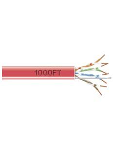 Black Box EYN849A-PB-1000 verkkokaapeli 304.8 m Cat5e U/UTP (UTP) Punainen Black Box EYN849A-PB-1000 - 1